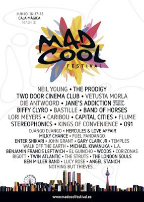 Mad cool madrid festival